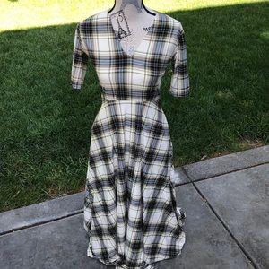 Agnes and Dora Plaid soft Dress